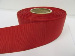 Dark Red Grosgrain ribbon, 2 or 20 metres, Ribbed Double sided, 6mm 10mm 16mm 22mm 38mm